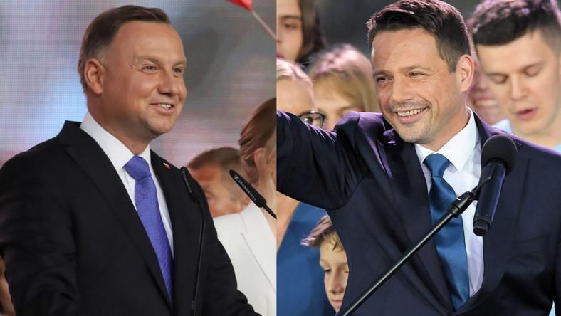 Andrzej Duda i Rafał Trzaskowski 2