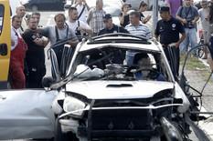"""MILIĆ RASKOMADAN U EKSPLOZIJI Forenzičari izneli DELOVE TELA iz uništenog automobila kod """"Franša"""""""