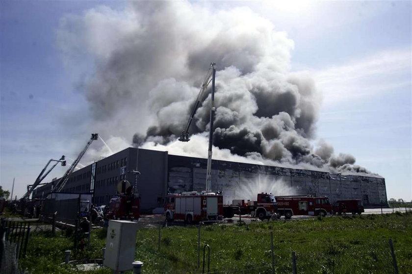 Wielki pożar pod Warszawą