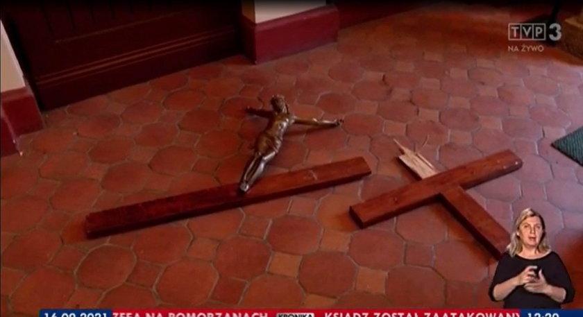 Szczecin. Ksiądz pobity w kościele. Zatrzymano 33-latka