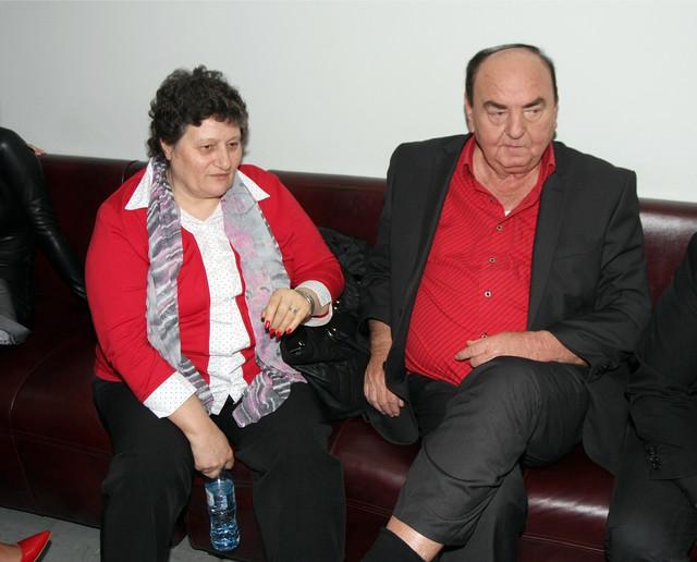 Bora Drljača sa suprugom Radom