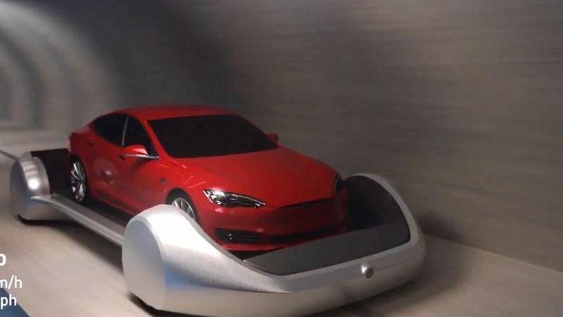 Elon Musk pokazał wizję podziemnych autostrad