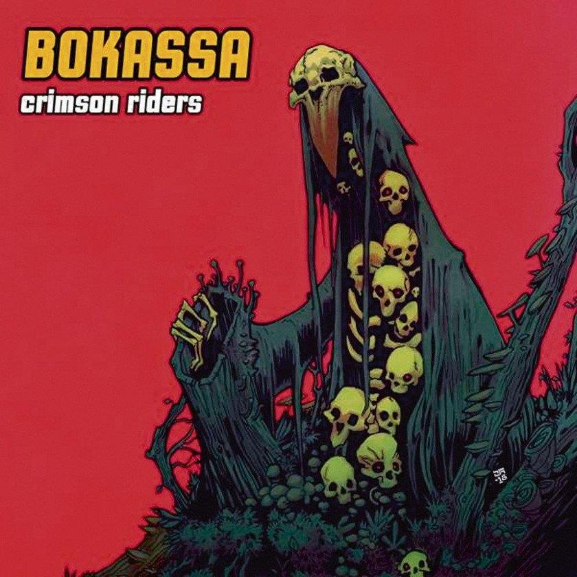 """Bokassa """"Crimson Riders"""""""