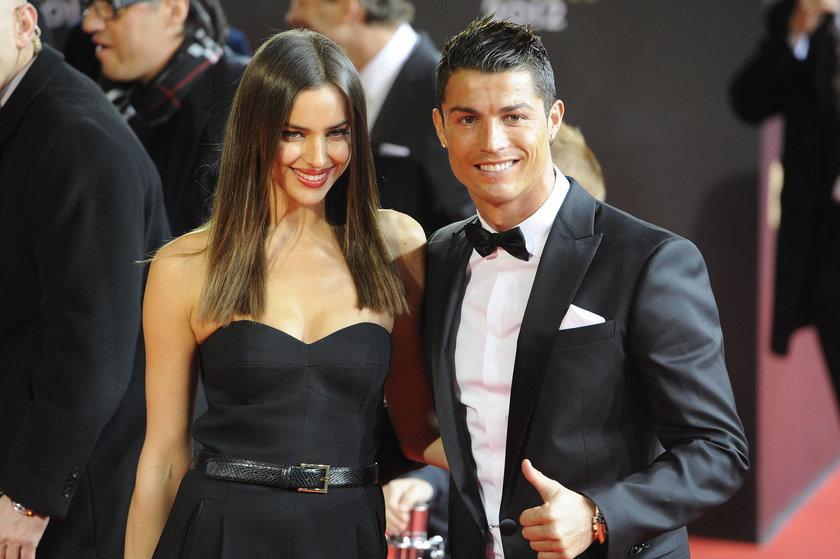 Cristiano Ronaldo z była partnerką