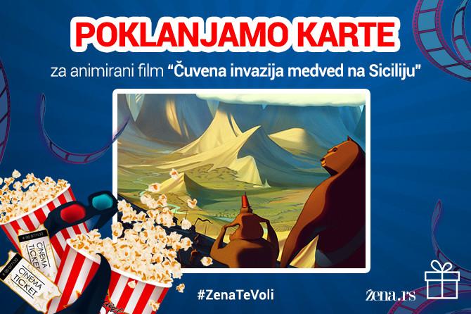Zena.rs poklanja karte za animirani film