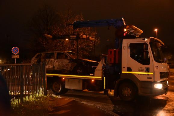 Automobil koji je koristio napadač pronađen je zapaljen