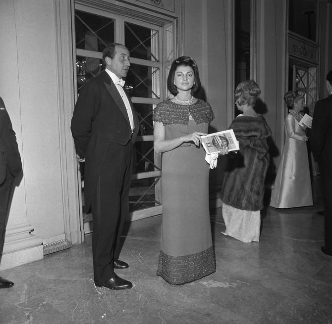Markiz i Ana na jednoj od mnogobrojnih proslava