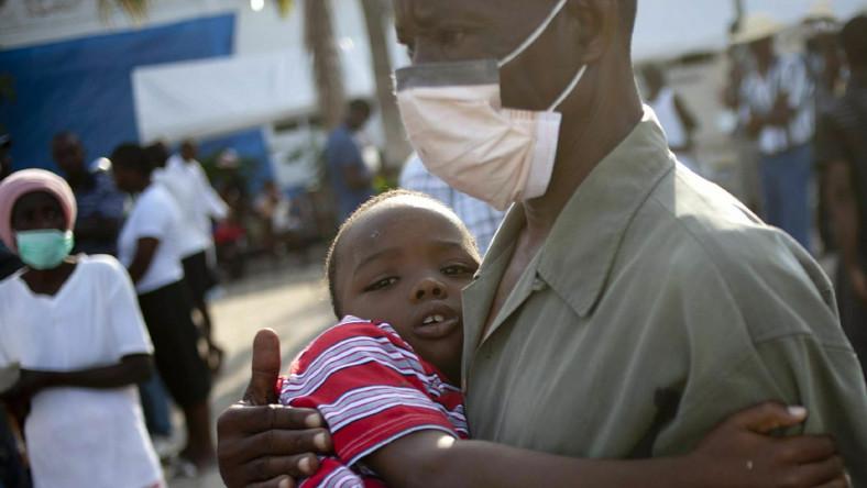 UNICEF: ponad 4,7 tys. zachorowań na cholerę na Haiti