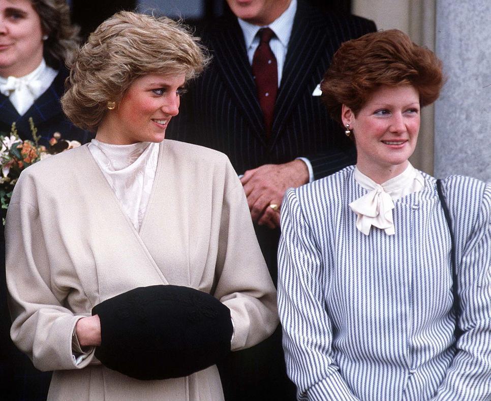 Princess Diana and her sister, Sarah!