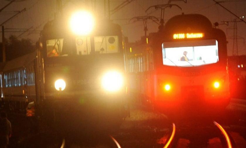 Zderzenie pociągów w Warszawie