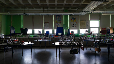 Schools Transform Into 'Relief' Kitchens but Federal Aid Fails to Keep Up