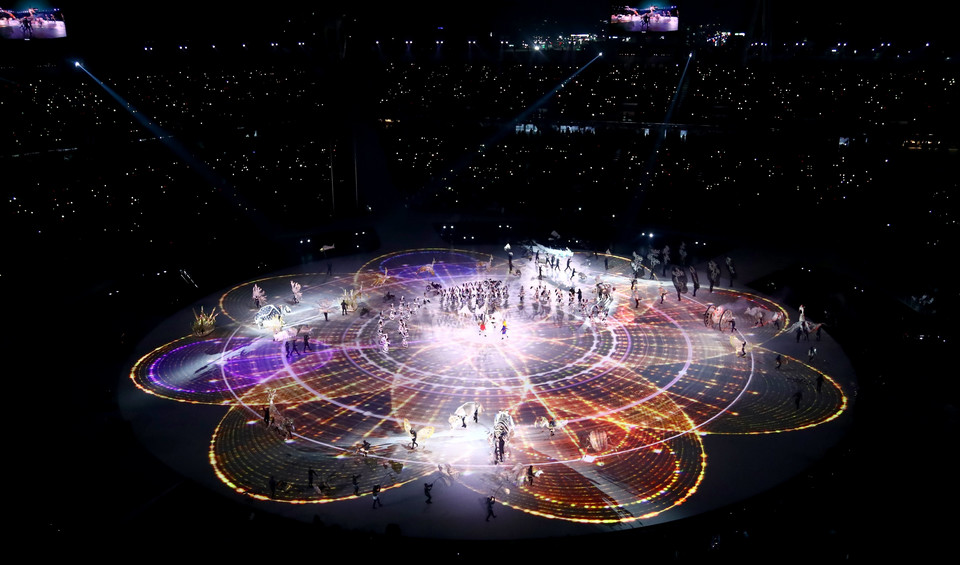 epa06508053 - SOUTH KOREA PYEONGCHANG 2018 OLYMPIC GAMES (Opening Ceremony - PyeongChang 2018 Olympic Games)