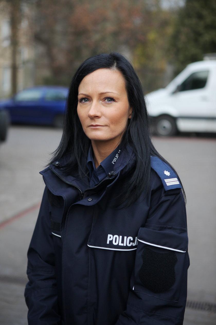 Joanna Kącka rzecznik policji w Łodzi