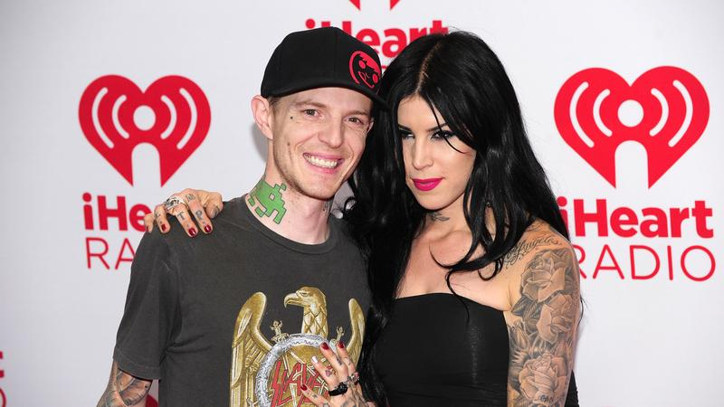 Deadmau5 z partnerką Kat von D (fot. Getty Images)