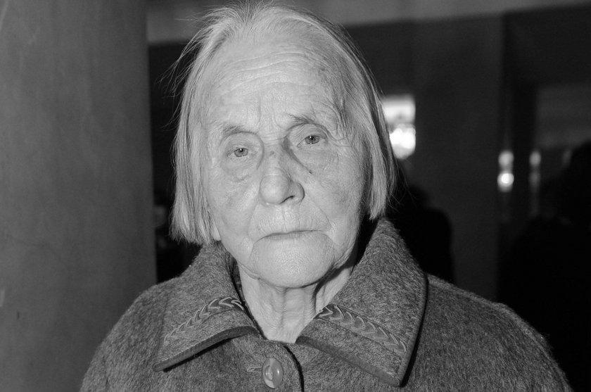 Marianna Popiełuszko nie żyje