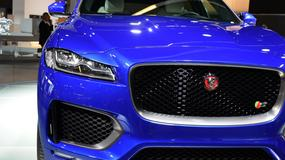Jaguar F-Pace - pierwszy SUV marki (Frankfurt 2015)