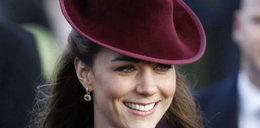 Świąteczna kreacja księżnej Kate