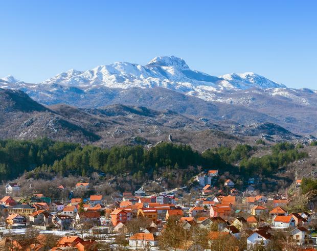 Cetinje i góra Lovcen