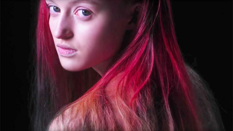 The Unseen - farba do włosów zmieniająca kolor