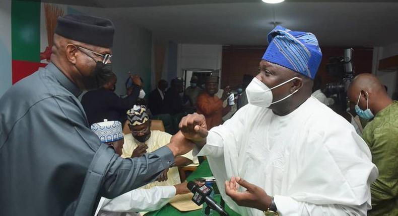 Ambode bags political role in APC (@AkinwunmiAmbode)