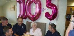 Skończyła 105 lat i miała bardzo ekscentryczne życzenie