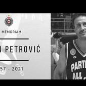 TUŽNE VESTI ZA SRPSKU KOŠARKU Preminuo legendarni košarkaš Partizana Boban Petrović