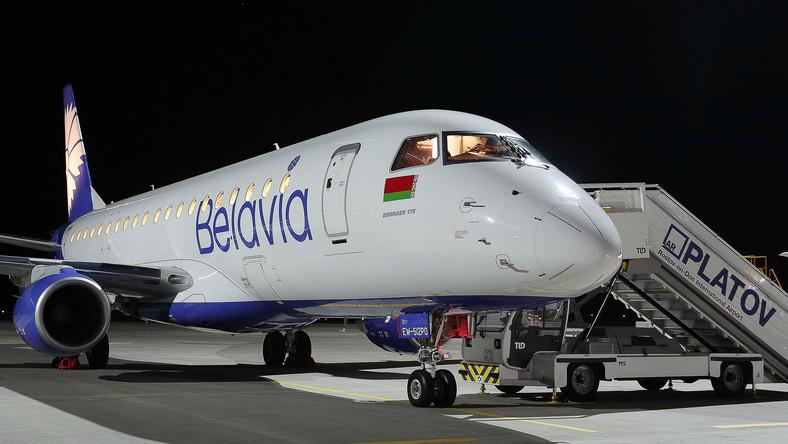 Samolot linii Belavia