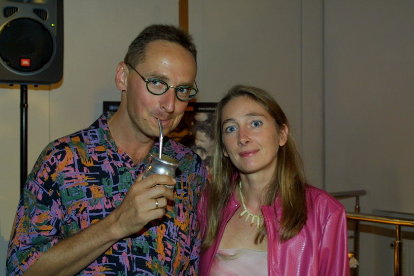 Wojciech Cejrowski i Beata Pawlikowska