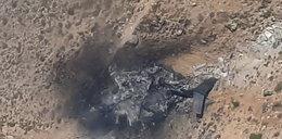 Samolot rozbił się w akcji. Nie żyje 8 osób [NAGRANIE]