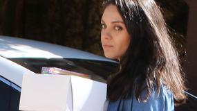 Mila Kunis i jej coraz większe ciążowe krągłości