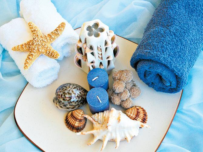 Letnji dekor: Napravite sami morske aranžmane