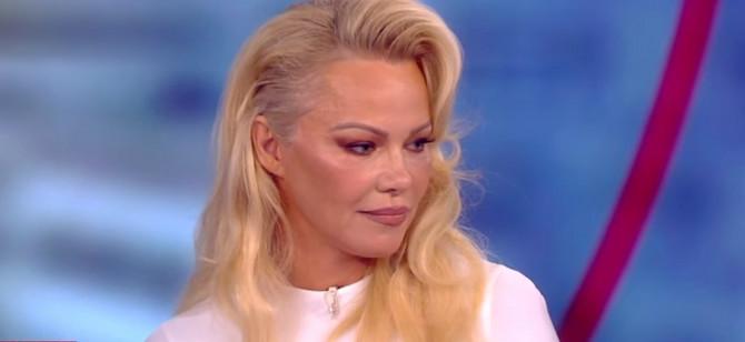 Pamela Anderson gostovanje u emsiji The View