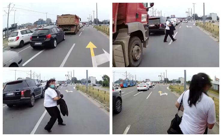 Nesreća pešak kombo