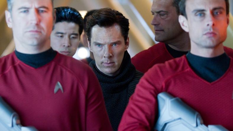"""Benedict Cumberbatch w filmie """"W ciemność: Star Trek"""""""
