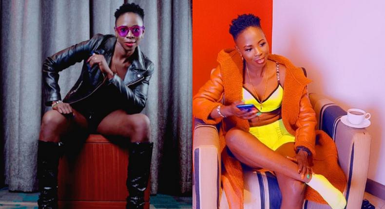 Upcoming Singer Violet Asale aka Zian Achana Arrested over the death of her KDF Husband