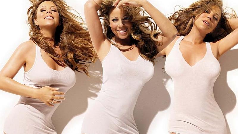Mariah Carey na okładce płyty (fot. Agencja BEW)