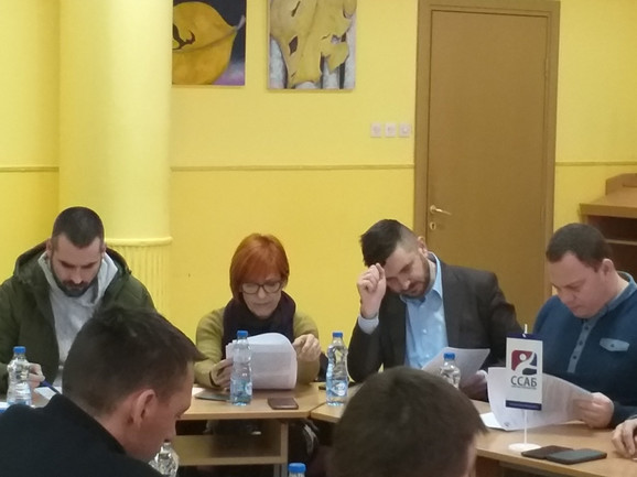 Održana je treća sednica Izvršnog odbora Sportskog saveza Beograda u novom sazivu, kojom je predsedavao prvi čovek ove organizacije Dragan Tomašević