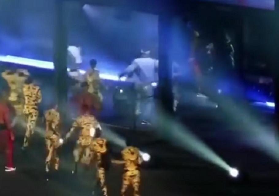Incident na koncertu Bijonse