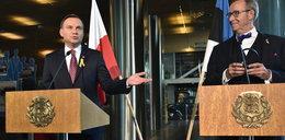 Mocne wystąpienie Dudy w Estonii