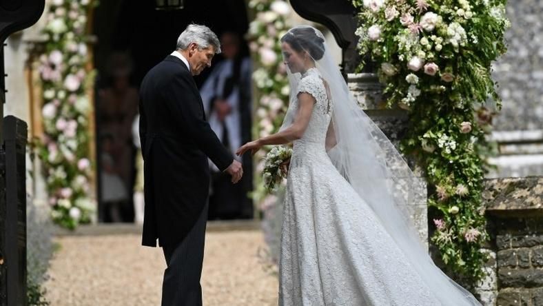 Pippa Middleton, whose sister Kate is married to Britain's Prince William, was to be wed on Saturday