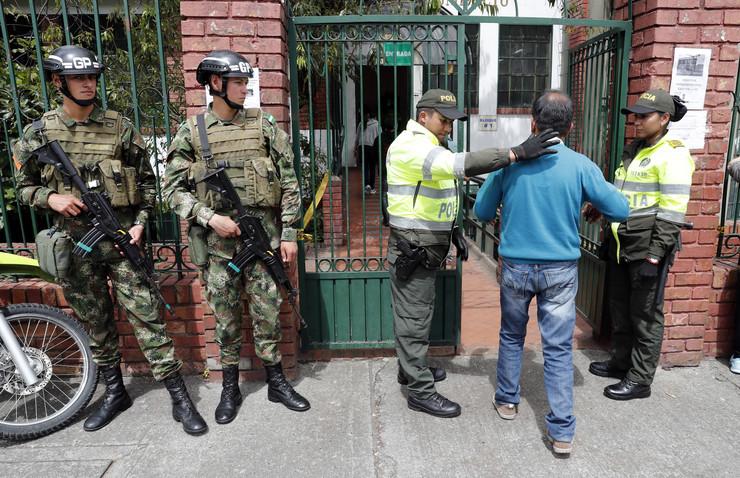Kolumbija policija