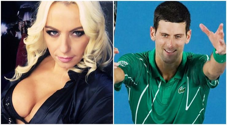 Novak Đoković i Kamelija