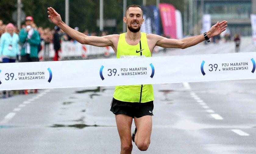 Znamy zwycięzcę Maratonu Warszawskiego. To Polak