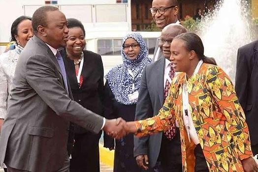 President Uhuru Kenyatta's niece Nana Gecaga has impressed Kenyans after she made a bold move to support Kenyan local upcoming artists.
