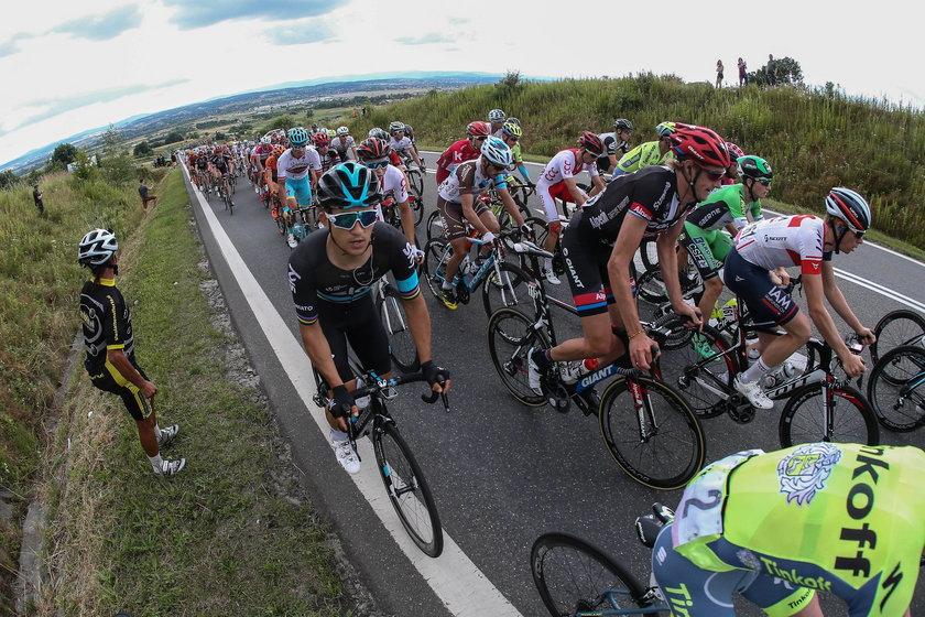Michał Kwiatkowski zaliczył groźny upadek na trasie Tour de Pologne