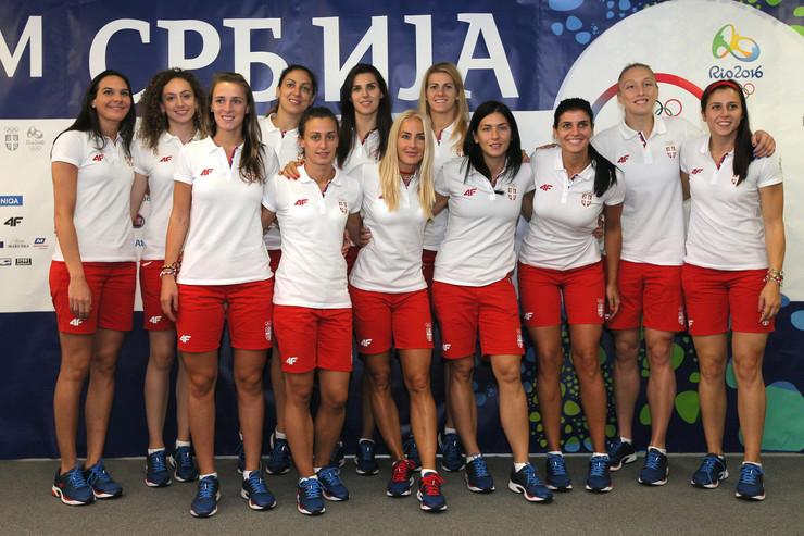 Ženska košarkaška reprezentacija Srbije, Vaterpolo reprezentacija Srbije