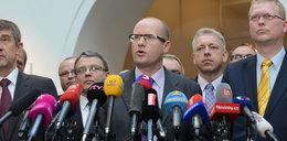 Szok w Czechach. Premier zapowiedział dymisję