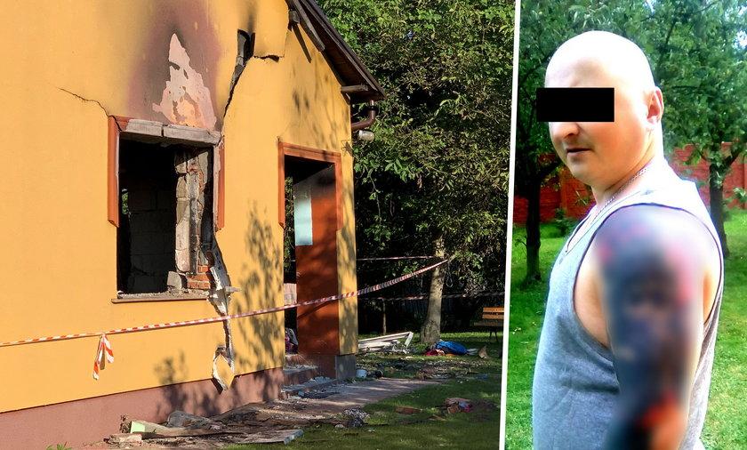 Mariusz S. doprowadził do wybuchu, w którym zginęła jego matka.