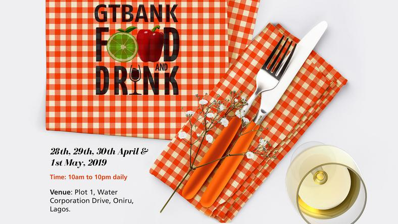 Image result for The 2019 GTBank Food And Drink Festival Is Here Again!