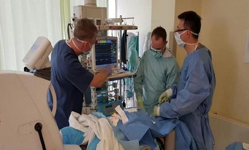 Nowatorska operacja uszkodzenia nerwu